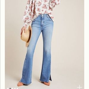 {Anthro} Pilcro Ultra High-Rise Bootcut Jeans